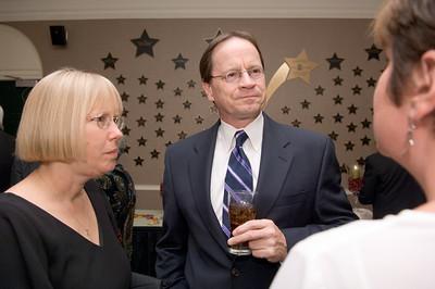 2005 Alumni Awards Gala..Michael Mitchell, student trustee, Kate Kryder, Vice president student senate ..Brian Footer, President student senate