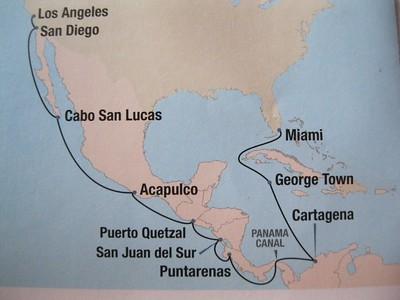 Panama Canal Oceania Cruise April 6-22, 2018