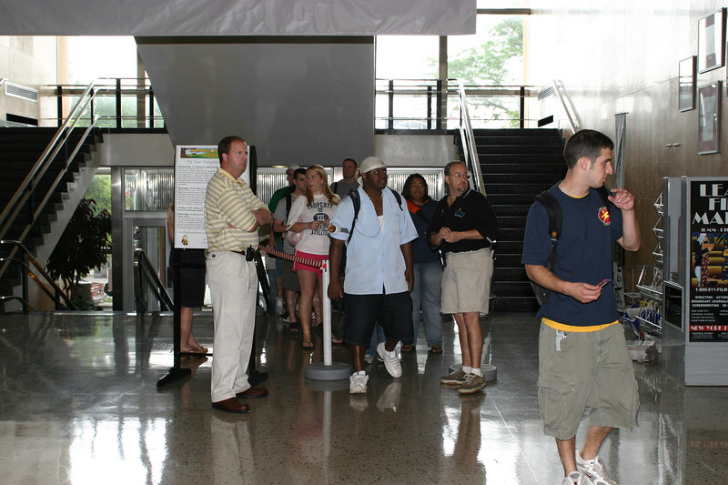 2004 Big Free Concert - Ticket Line in Union