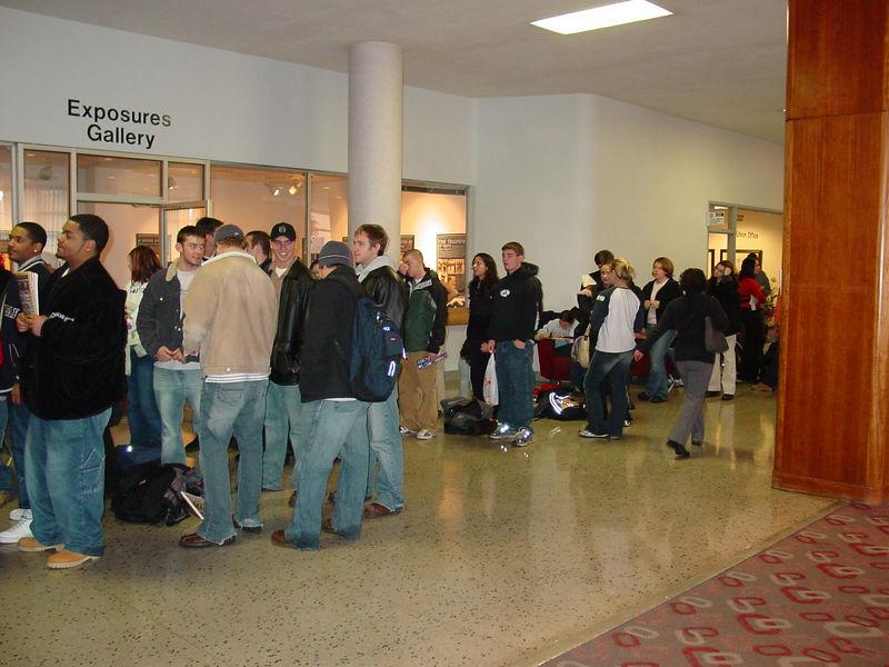 2004 Chris Rock Ticket Line