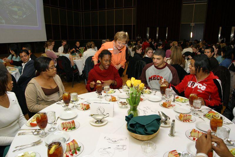 2005 OUAB Etiquette Dinner