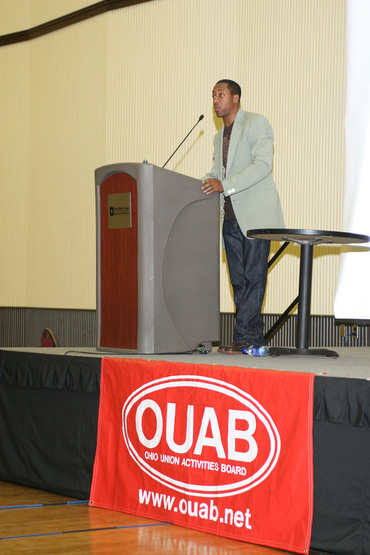 2005 OUAB Presents Jaleel White