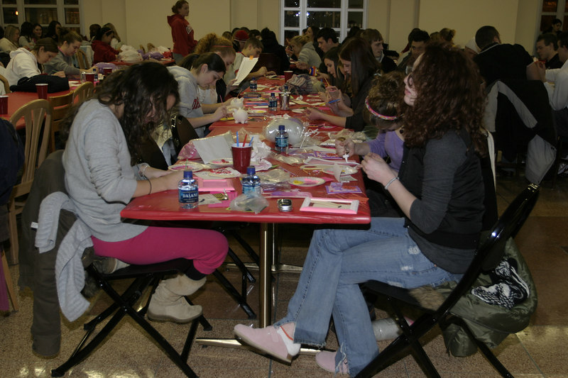 2007 OUAB Craft Night at Baker Hall