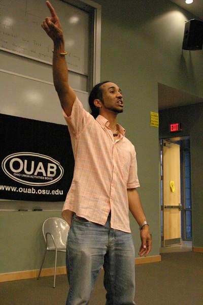 2007 OUAB Poetry Jam Featuring Shihan