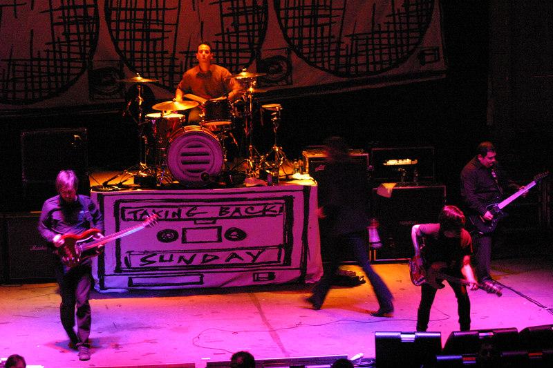 2007 Taking Back Sunday Concert
