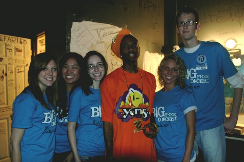 2008 OUAB Big Free Concert with MIA