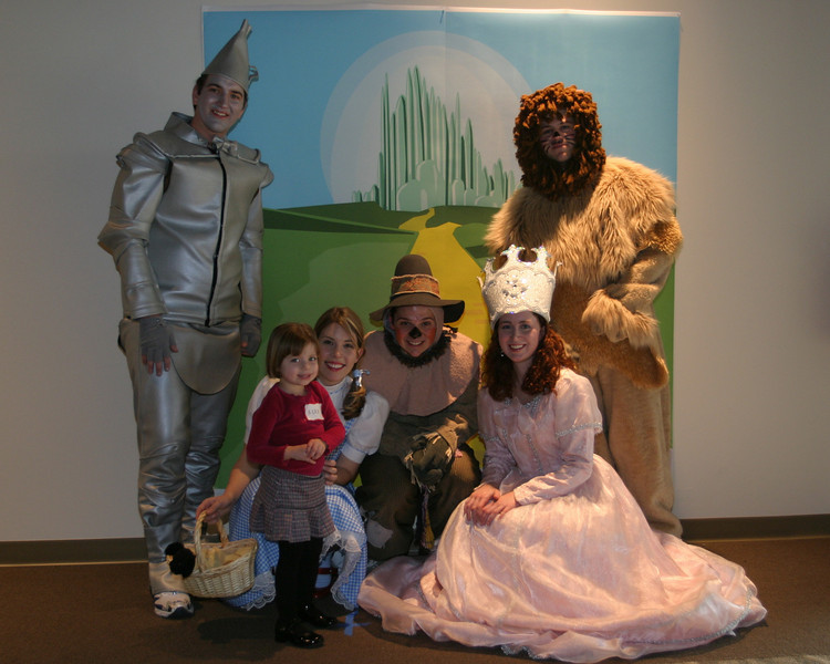 2008 OUAB Wizard of Oz with Gee Character Photos