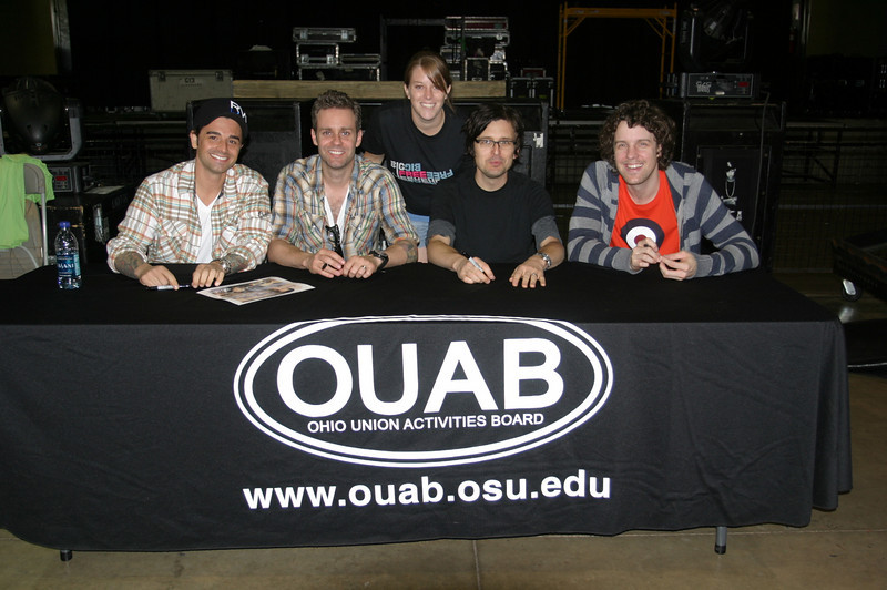 2009 Dashboard Confessional and Augustana Concert