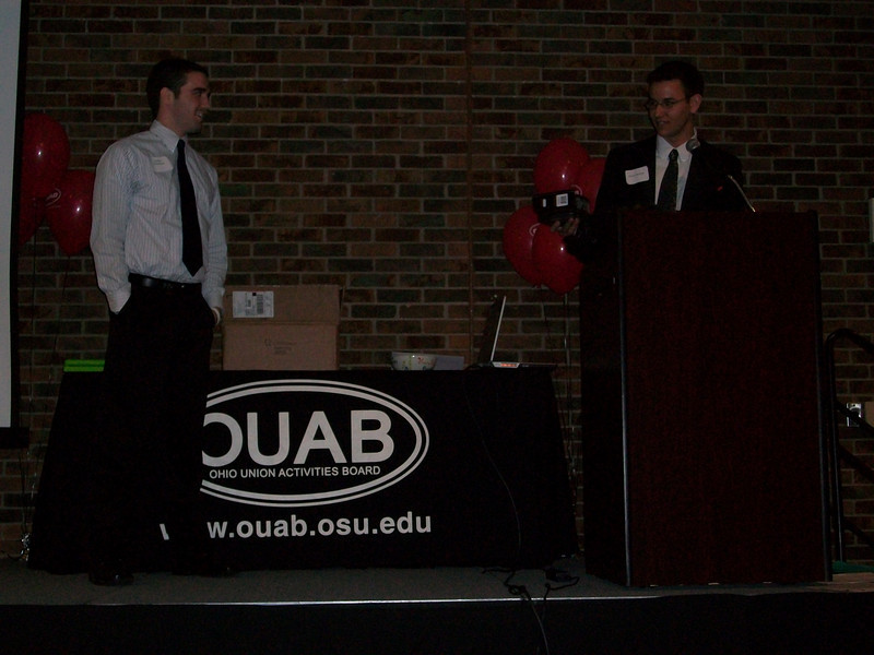 2009 OUAB End of Year Banquet