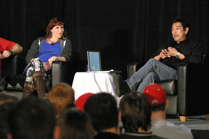 2009 Kari Byron and Grant Imahara