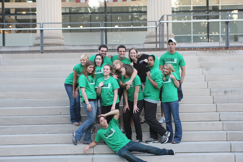 2009 OUAB Staff Photos
