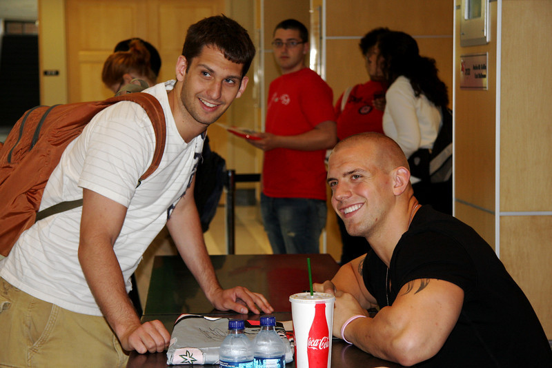 2010 Celebrity Signing Series - James Laurinaitis