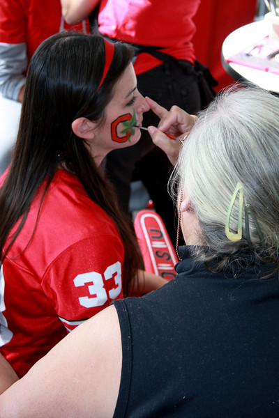 2009 Face Painting Tailgate