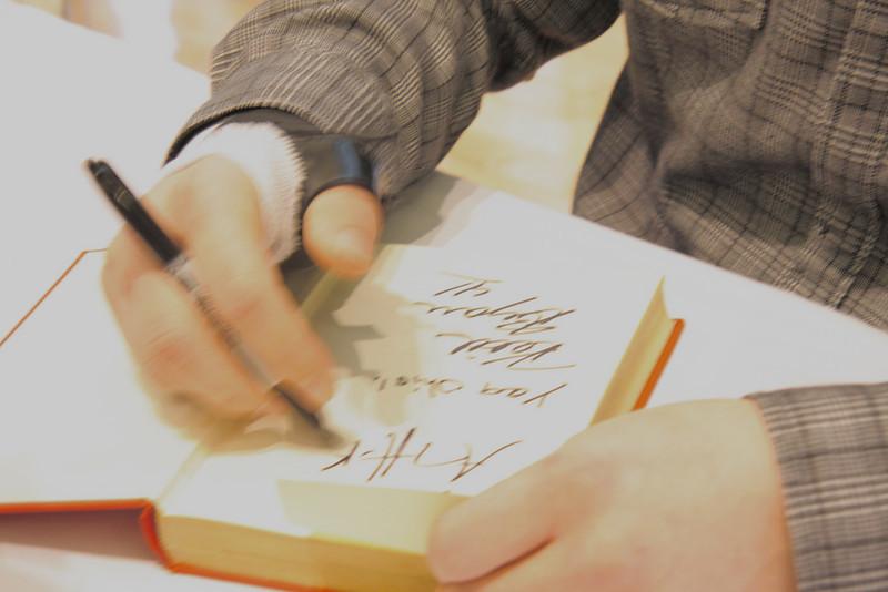 2011 AJ Hawk Celebrity Signing Series
