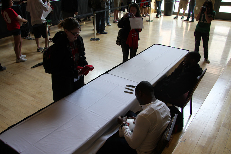 2011 Meet & Greet with Troy Smith