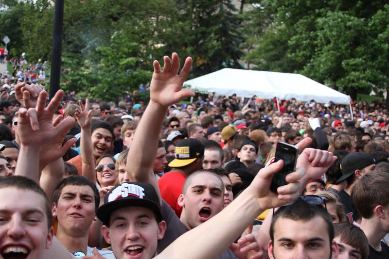 2012 OUAB Big Free Concert