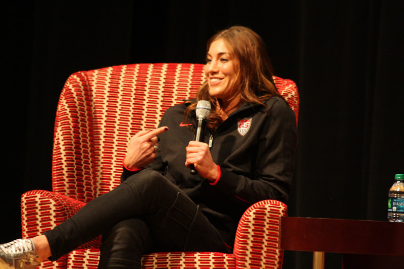 2012 OUAB Presents Hope Solo and Alex Morgan