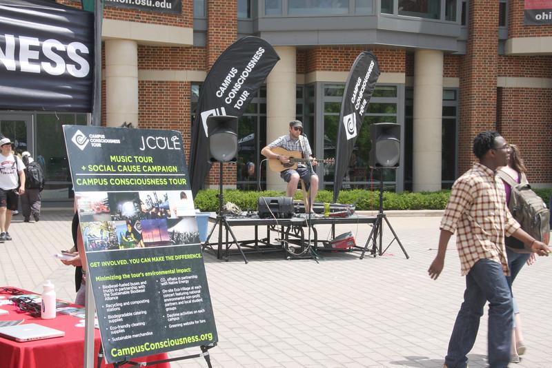2012 J. Cole Campus Consciousness Tour