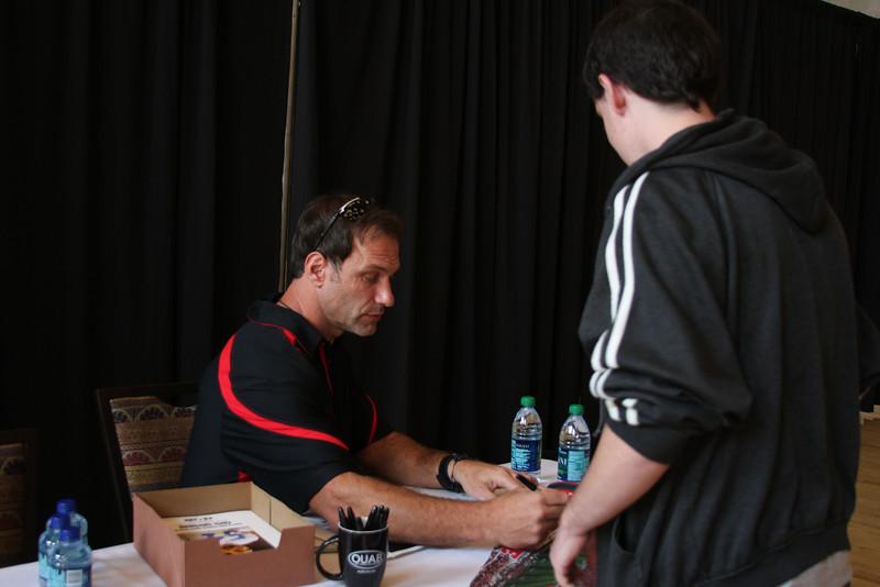 2011 OUAB Meet & Greet with Chris Spielman
