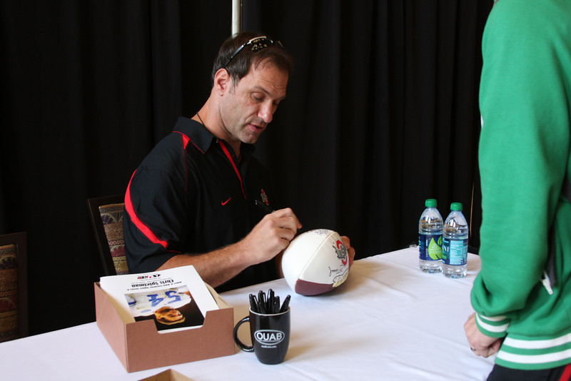 2011 OUAB Meet & Greet with Chris Spielman