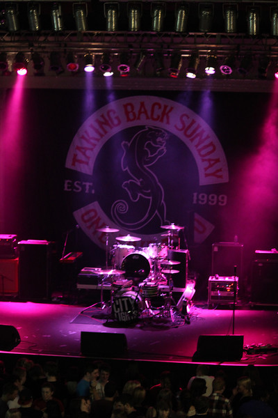 2012 OUAB presents Taking Back Sunday