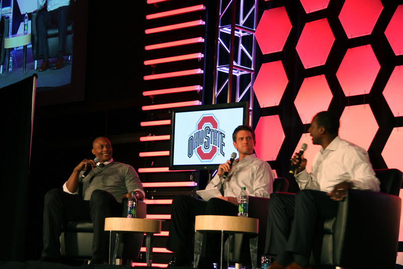 2011 Eddie George and Desmond Howard w/ Todd McShay