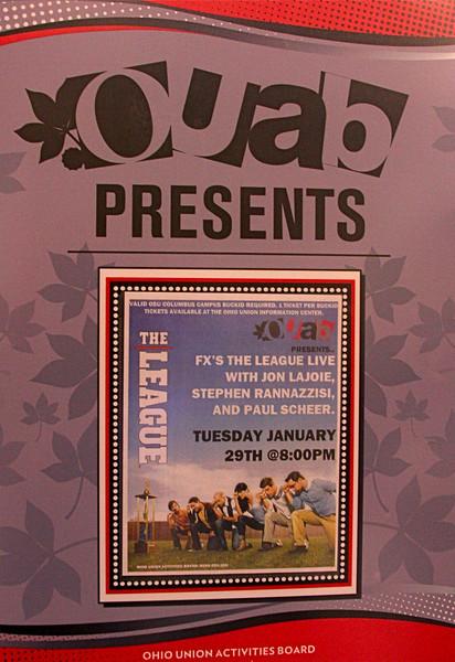 2013 OUAB Presents FX's The League Live