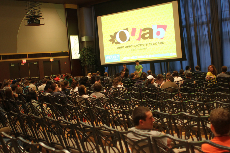 2013 OUAB Skyfall Movie Screening