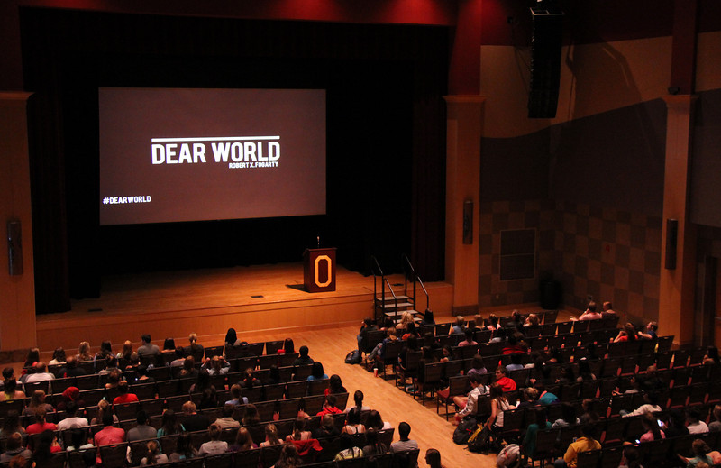 2013 OUAB Dear World Presentation