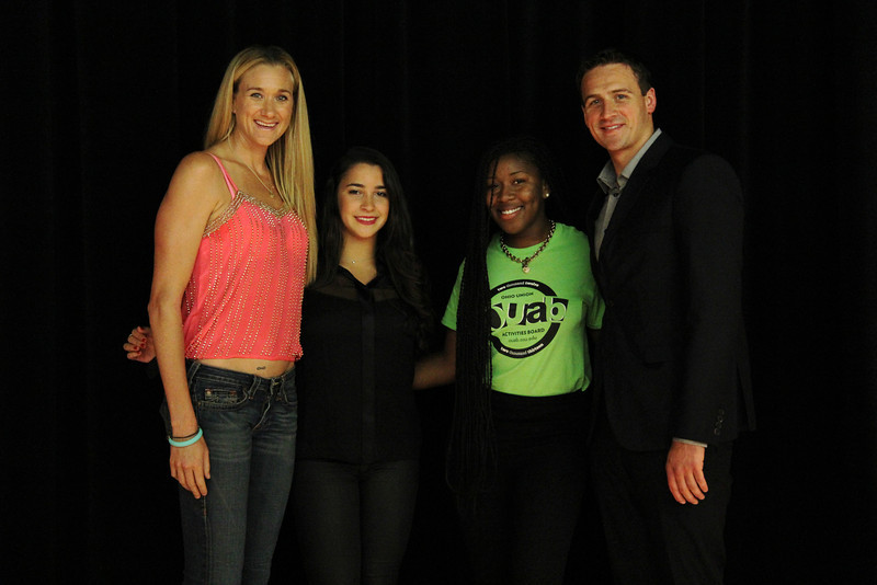 2013 OUAB Presents Olympian Gold Medalists