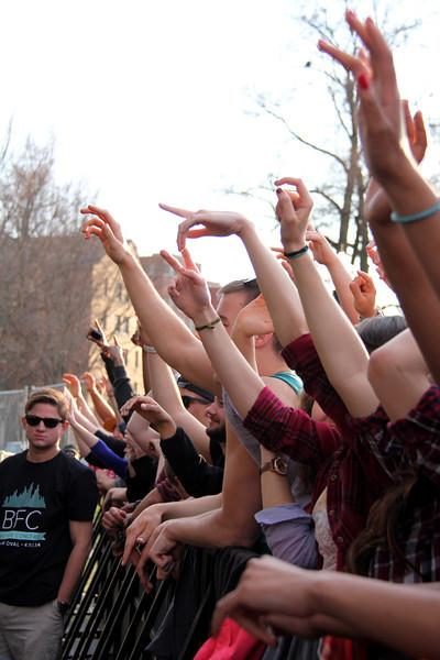 2014 OUAB Big Free Concert