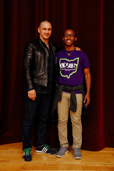 2014 OUAB Presents An Evening with James Franco