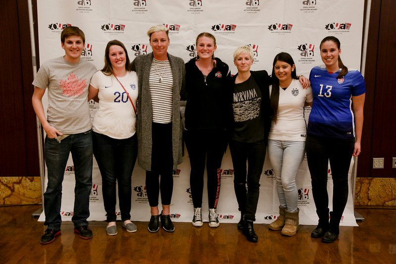 2016 OUAB Presents Abby Wambach and Megan Rapinoe
