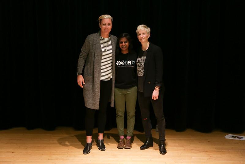 2016 OUAB Presents Abby Wambach and Megan Rapinoe