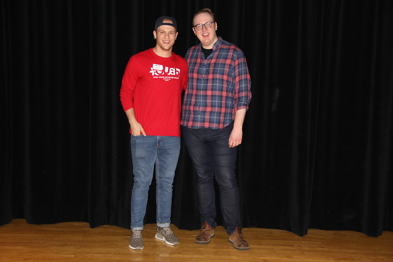 An Evening with Matt Bellassai on April 20, 2017. (Nick DaLonzo & Nicky Stewart/Ohio Union Activities Board)
