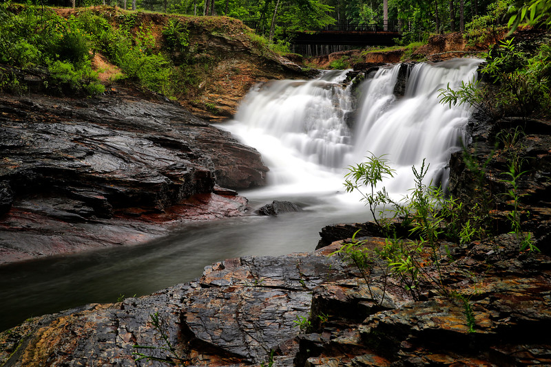 Balboa Lake Falls - Hot Springs Village, Arkansas - Spring 2016