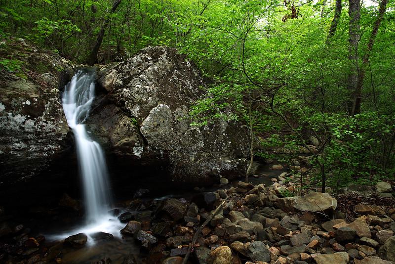 Bridal Veil Falls - Oachita National Forest