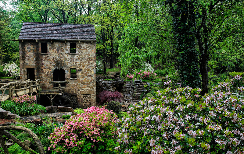 The Old Mill - North Little Rock, Arkansas - Spring 2016