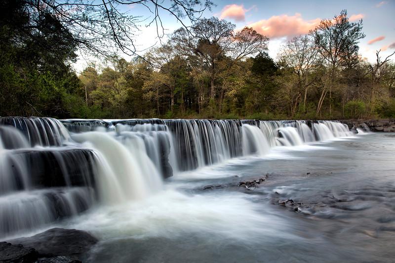 Natural Dam Falls - Natural Dam, Arkansas - Spring 2017