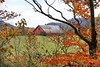 Mountain Barn in Autumn - Ouachitas of Arkansas - Fall 2020