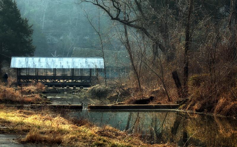 Covered Bridge - Trout Farm - Dogpatch U.S.A.