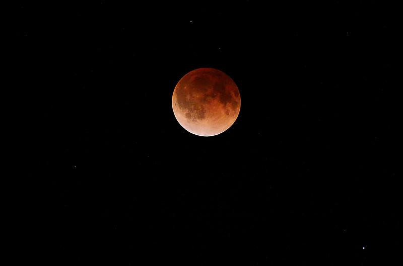 Blood Moon - April 15, 2014 - Harrison, Arkansas