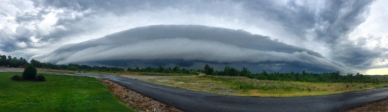 Shelf Cloud - Hot Springs Village - Arkansas
