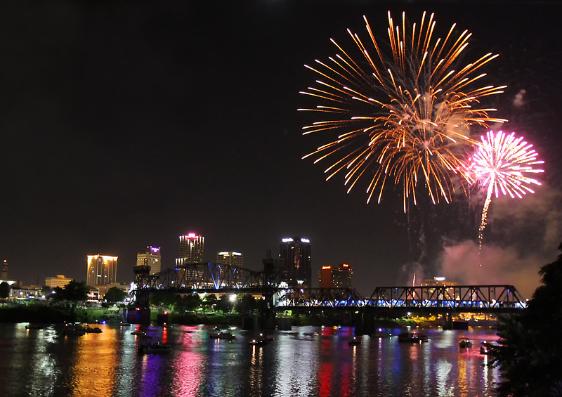 Little Rock, Arkansas - 4th of July