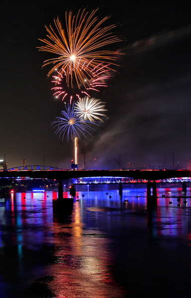 2016 Pops on the River - 4th of July Celebration - Little Rock, AR