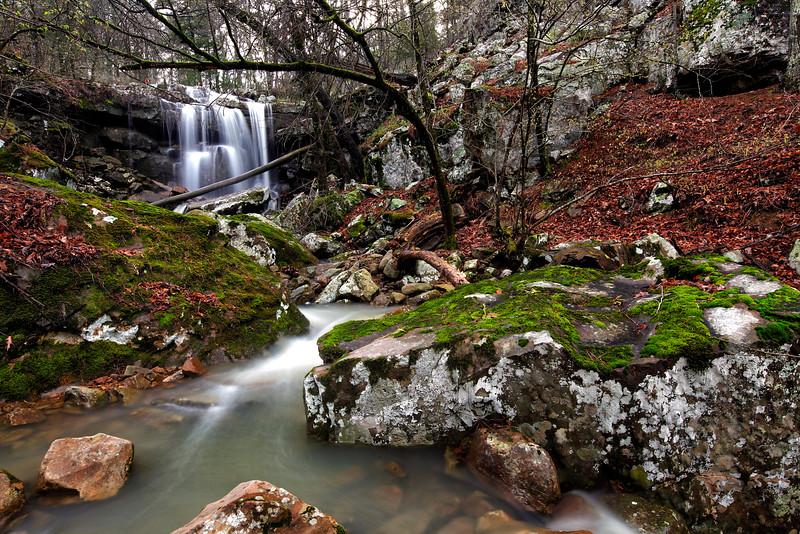 Goat Falls - Ouachita National Forest