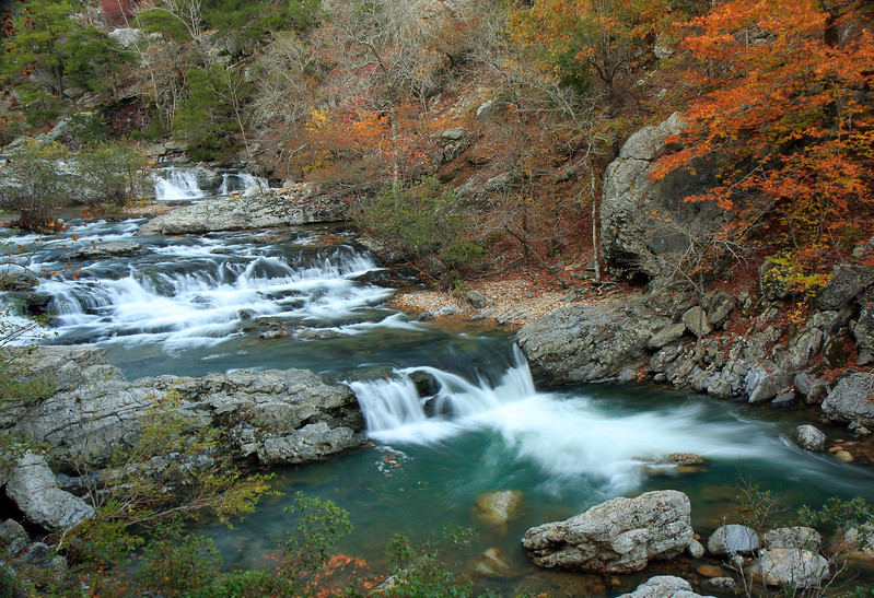Little Missouri Falls -  Autumn