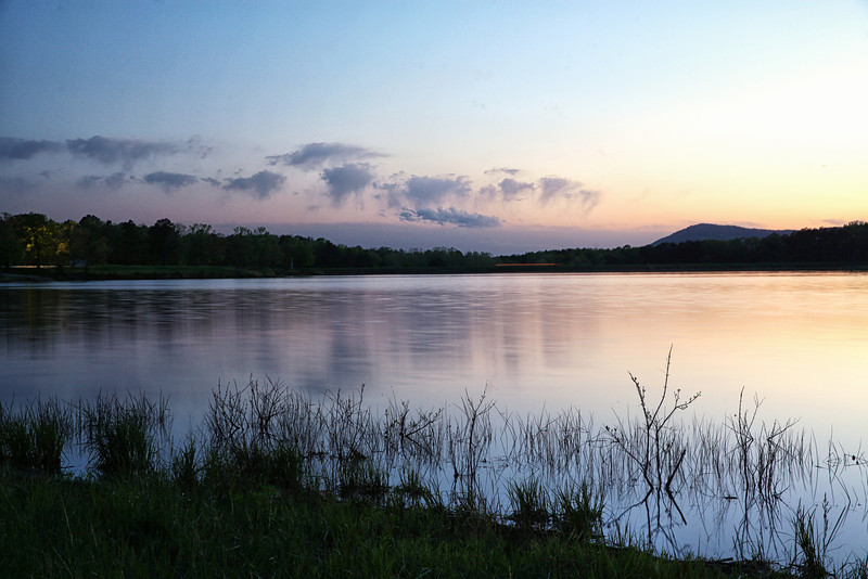 Sunset - Lake Wilhelmina - Mena, Arkansas - Spring 2014