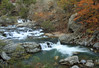 Little Missouri Falls at High Water - Little Missouri River - Ouachita National Forest