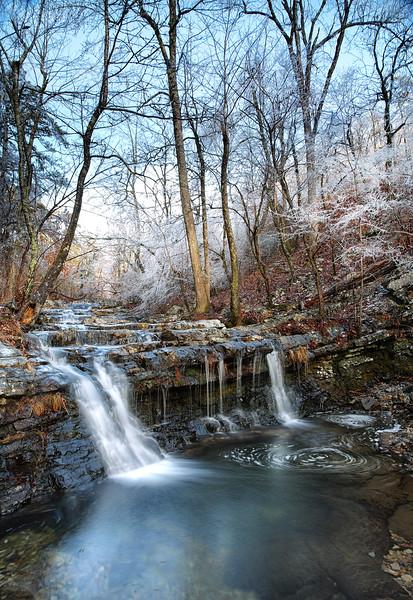 Crooked Creek Falls - Little Missouri Falls Area